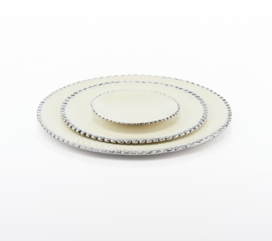 Large Beaded Plate