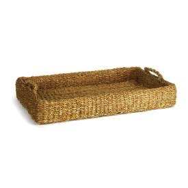 SEAGRASS LOW TRAY WITH HANDLES