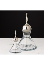 Finial Decanter-Nickel-Sm