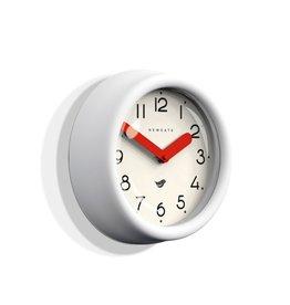 Pantry Clock- Pebble White