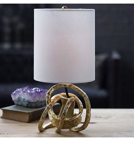 Mini Knot Lamp-Soft Gold