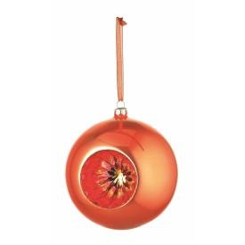 REFLECTOR GLASS BALL ORNAMENT 4.75""