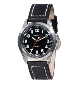 TOKYObay Watch, Structure in Black