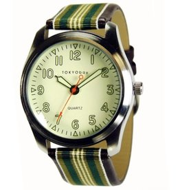TOKYObay Watch, Marine in Green