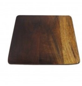 Ombre Mango Wood Square Plates, Large