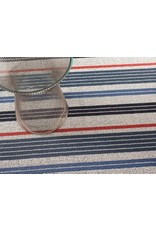 Shag Mixed Stripe Montauk Runner (24'' x 72'')