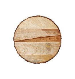 "Acacia Wood Trivet 4"""
