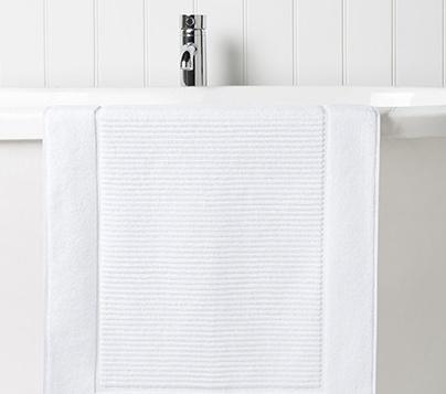 Supreme Hygro Bath Mat WHITE