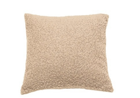 """Pillow Boucle, 18""""x18"""", OYSTER"""