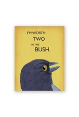 Two in the Bush Card