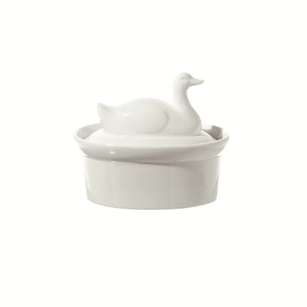 "LPB Terrine Casserole with Duck Lid 6.5x4.5"" (16x11cm)"
