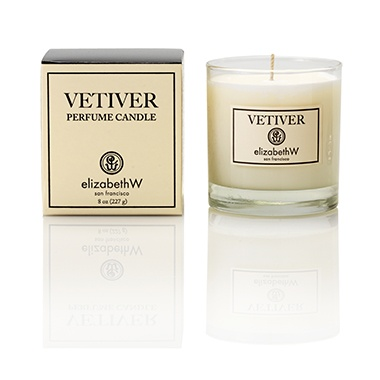 Vetiver Aromatherapy Candle, 8 oz.