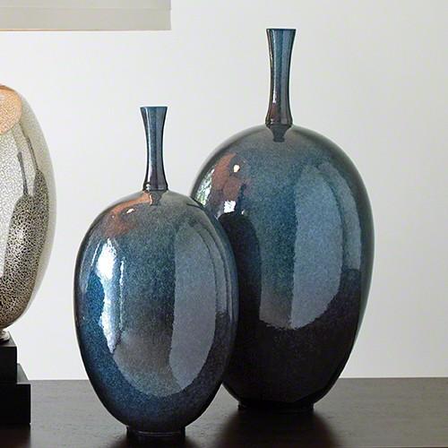 Small Celestial Ovoid Vase