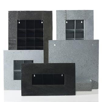 Zinc Wall Planter  - 17.5x3.5