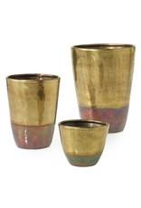 "Moi Vase, Brass - 4.5x6"""