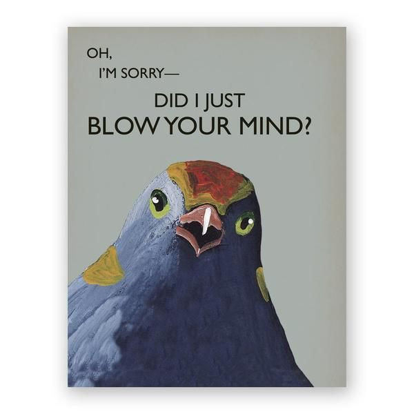 Blow Your Mind Card