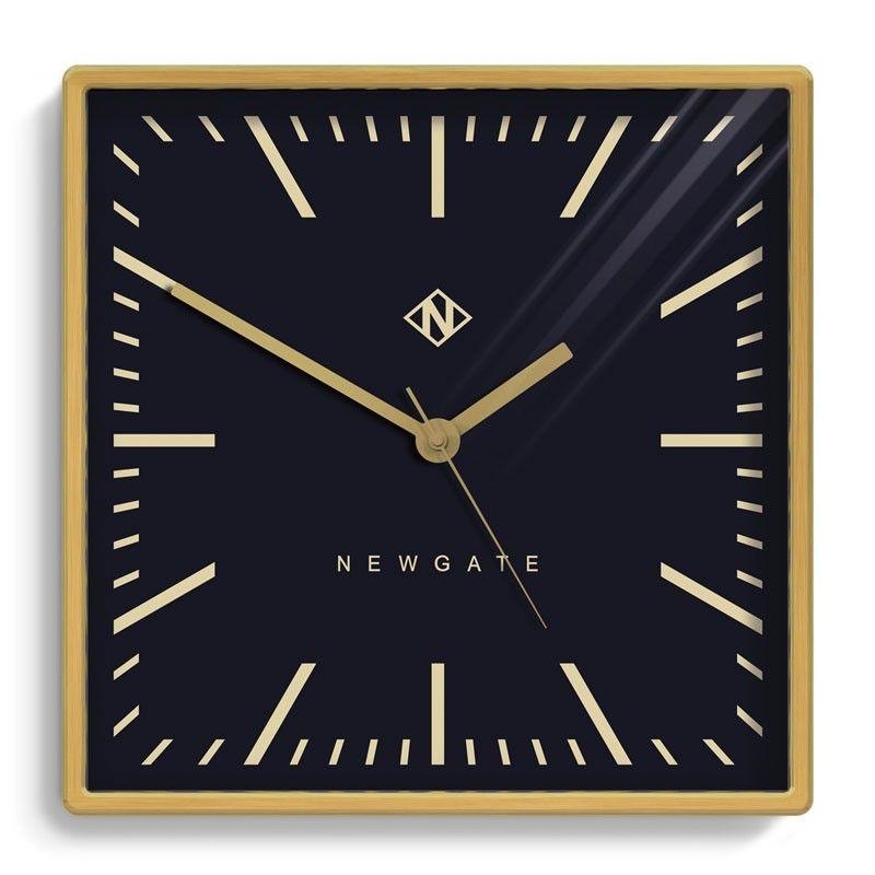 Underpass Clock, Brushed Brass