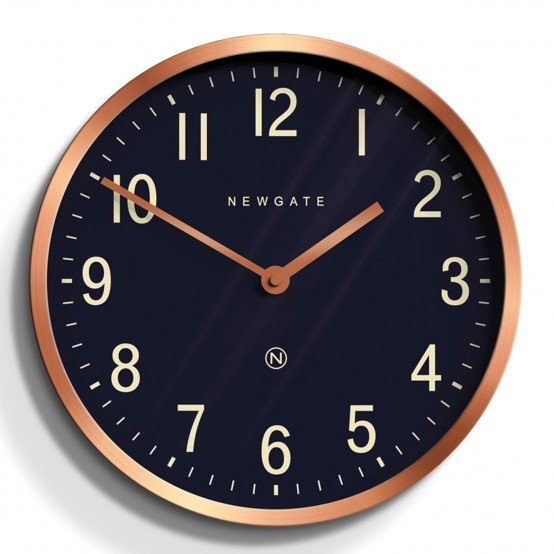 Master Edwards Clock, Radial Copper