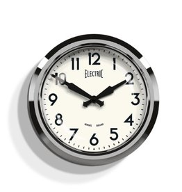 50's Electric Clock, Chrome