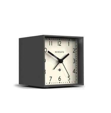 Cubic Alarm Clock, Gravity Gray