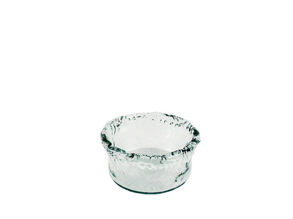 Medium Recycled Glass Artisanal Bowl