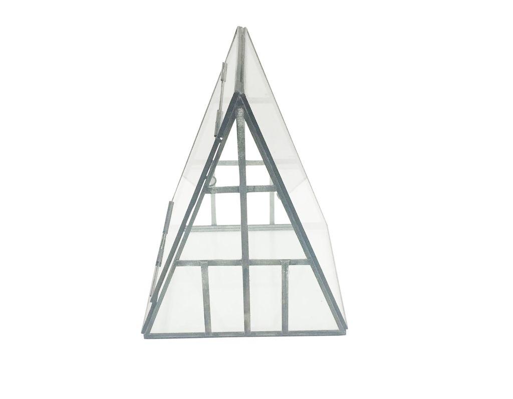 Iron & Glass A-Frame Terrarium