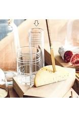 Cut Geometric Glass Champagne