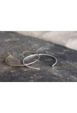 Thin Gibbous Cuff, Silver