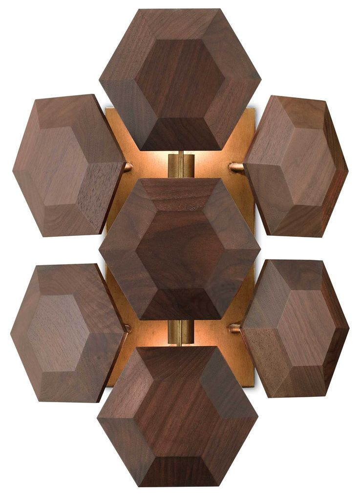 Honeycomb Wall Sconce