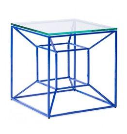 Floating Blue Side Table