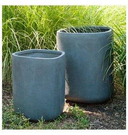 "Tombo Grey Planter 21.5""H"