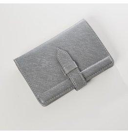 Worldly Passport Holder Grey