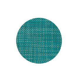 Mini Basketweave Coasters Pack of Four, Turquoise