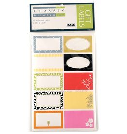 Rectangle Gift Labels, Assorted