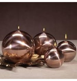 Titanium Ball Candle-Rose Gold 3.5in