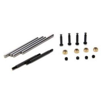 LOSI Suspension Hinge & King Pin Set (10): 10-T