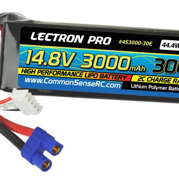 LECTRON PRO 14.8V 3000mAh 30c EC3