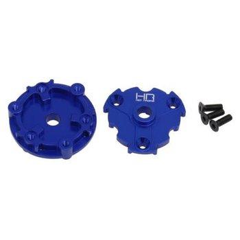 HOT RACING Hot Racing heavy duty CNC machined blue anodized aluminum Crush Drive hub for Traxxas E-Revo 2.0