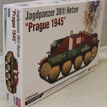 academy 13277 1/35 Hetzer Prague 1945 Limited Edition