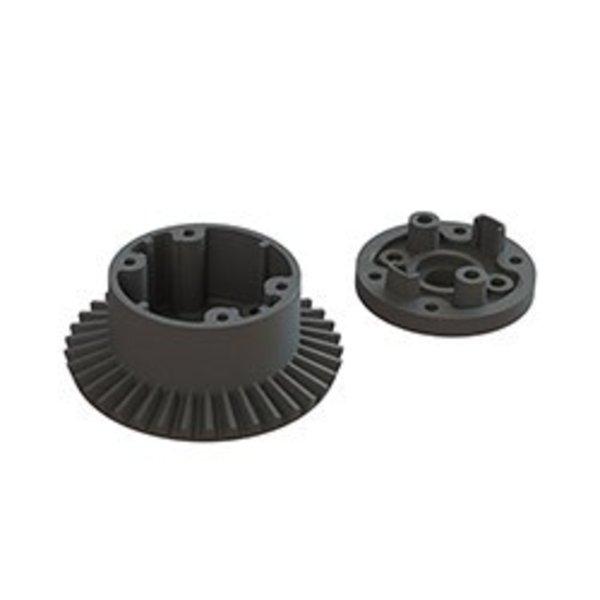 arrma AR310872 Diff Case Set 37T Main Gear 4x4 BLX 3S