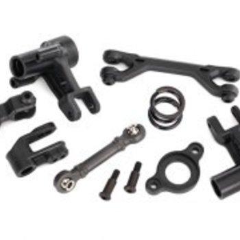 Traxxas Steering bellcranks/ servo saver/ servo saver spring/ servo spring retainer/servo horn, steering