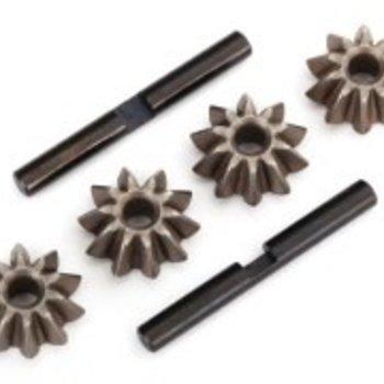 Traxxas Gear set, differential (spider gears (4), spider gear shaft (2))