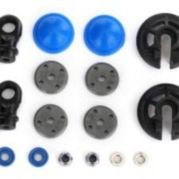 Traxxas Rebuild kit, GTR shocks (x-rings, bladders, pistons, piston nuts, shock rod ends) (renews 2 shocks)