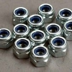 Traxxas 2745 NYLON LOCKNUT 3MM (12)