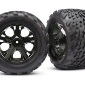 Traxxas 3669A TIRES & WHEELS ASSM FR(2