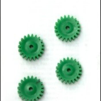 Plastic Gears 22mm x 6mm 20-teeth (3mm ID) (4)