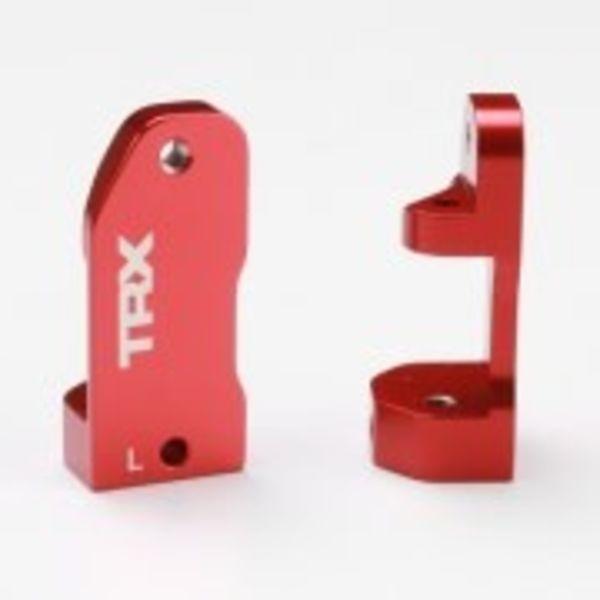 Traxxas 3632X CASTER BLOCKS 30 RED