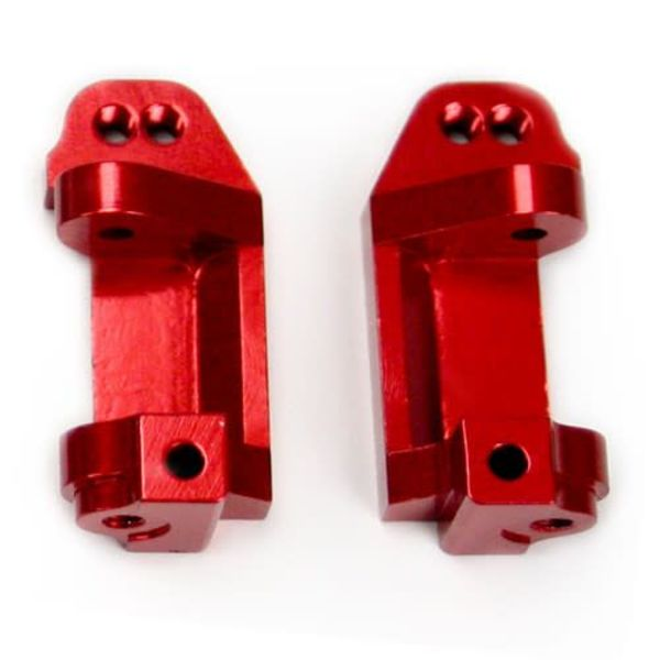 4128R Aluminum C-Hub Red Slash