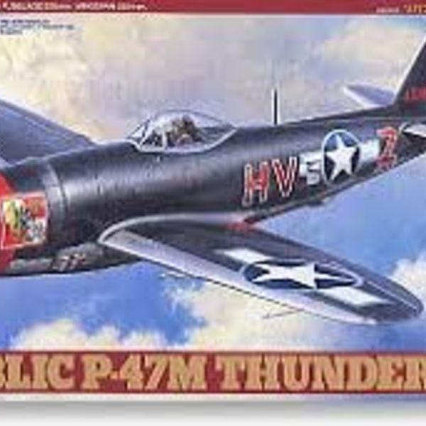 Tamiya 1/48 Republic P,47M Thunderbolt