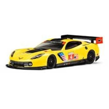 PRO Chevrolet Corvette C7.R Clear Body, 190mm (picture may not resemble actual product)